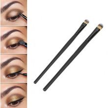 New 2015 2 Pcs Makeup Set Powder Foundation Eyeshadow Eyeliner Lip Cosmetic Brushes
