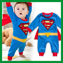 baby clothing baby boy rompers baby boy clothes cute superman costume short sleeve cotton batman cartoon