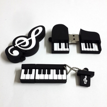 2015 Hot Sale Musical Instrument Usb Flash Drive Usb Memory Stick 4GB 8GB 16GB 32GB 64GB Flash Memory Stick Pen Drive Disk(China (Mainland))