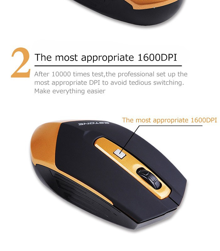 Optical Wireless Mouse Mice 4 Buttons USB Mouse Mice Raton Inalambrico 2.4G Receiver Mini Computer Mouse Gaming Mice