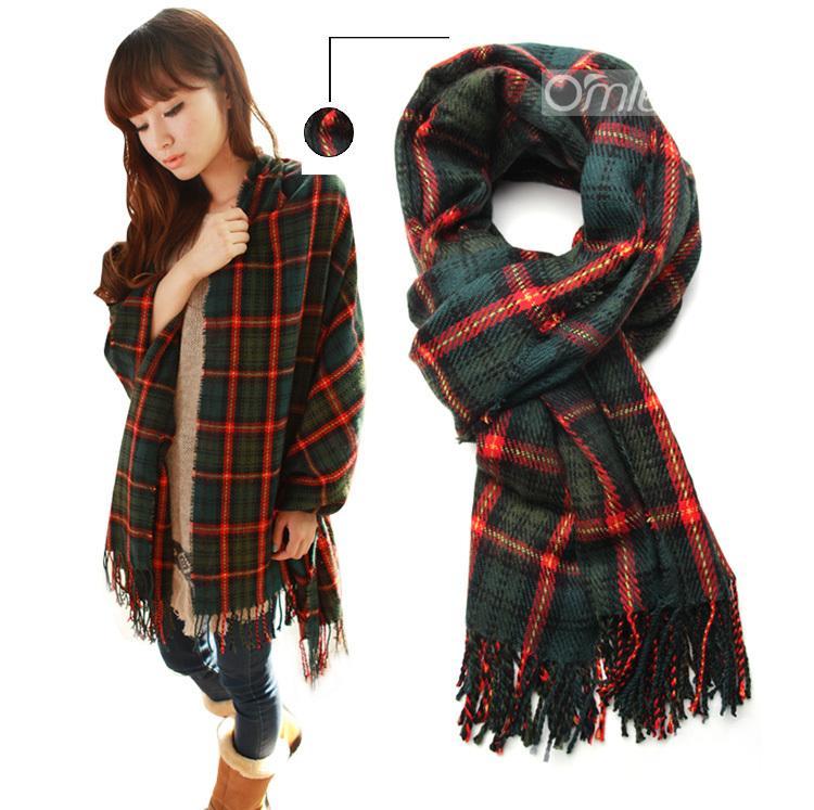 Мода Зима Шарф