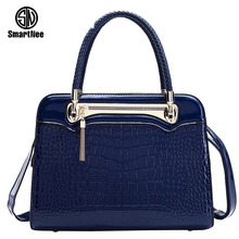 Buy Newest Fashion Luxury Woman Bag PU Leather Crocodile Women Shoulder Bag Zipper Bag Female Messenger Bag Handbag Bolsas Femininas for $26.88 in AliExpress store
