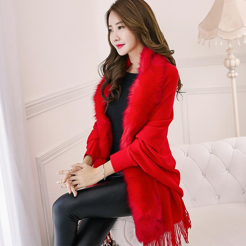 2017 winter length women cardigan wholesale knitwear coat sweater cape poncho women cardigans clothes
