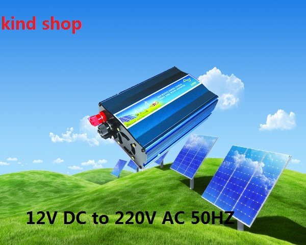 300W off grid inverter, 12V DC to AC220V pure sine wave inverter for small solar or wind power system, surge power 600W(China (Mainland))