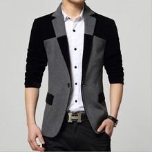 Blue Red Black Velvet Blazer Suit Men Slim Fit Casual Nice Fancy Jacket Blazer Mens Korean Slim Fit Casual Tweed Blazers Homme
