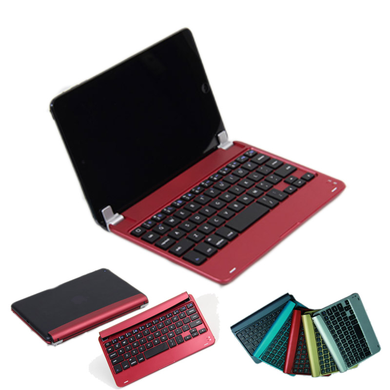 Wireless Bluetooth Keyboard (US Keyboard Layout) Case Cover with Built-in Stand Groove For iPad Mini 4/ Mini 3 / Mini 2 Retina<br><br>Aliexpress