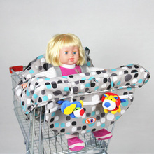 Infant Baby Safety Trolley Cover Infant Car Mats Child Portable High Dining Chair Seat Belts Pad