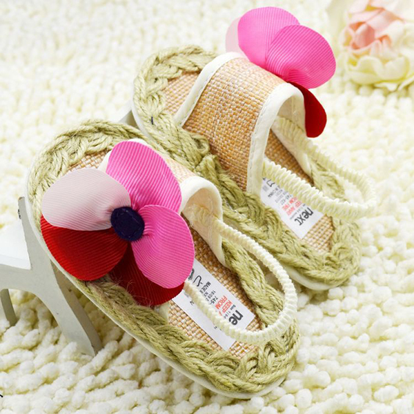 0-18 M Toddler Baby Shoes First Walkers Toddler Floral Infant Crib Sofe Sole Shoe