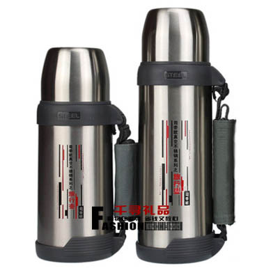 Stainless steel vacuum travel pot. Outdoor sports thermos 1000 ML thermos Vacuum Cup Flasks(China (Mainland))