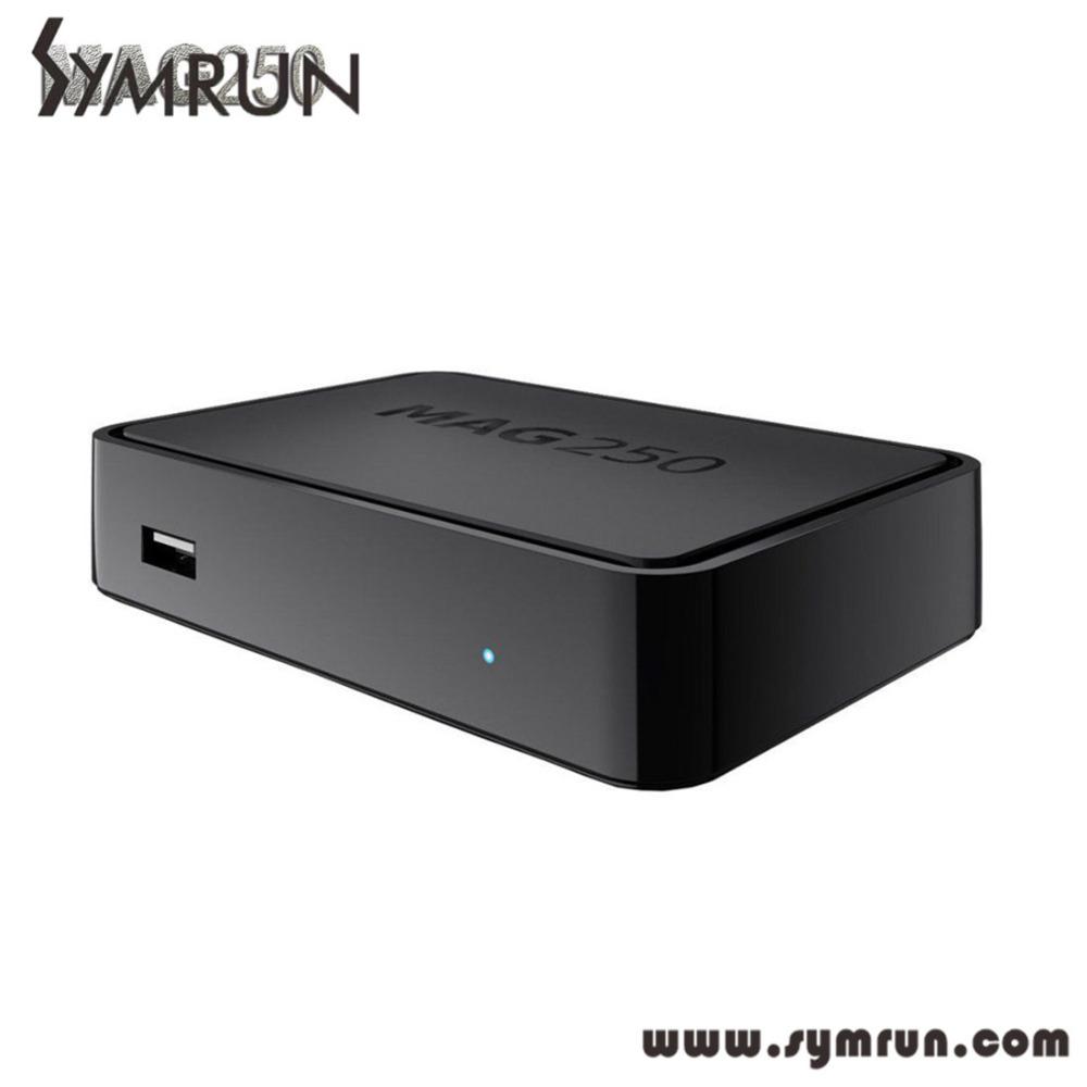 Mag250 Linux 2 6 23 System font b IPTV b font Set Top Box Processor STi7105