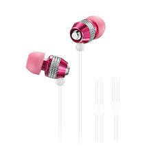 Wallytech Original Free shipping 10PC/Lot Stereo in ear Metal Earphone Top 10 selling For MP3 ipod Touch IPad shuffle (WEA-081)(China (Mainland))
