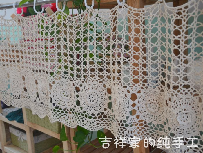 Crochet and ganchillo on pinterest for Cortinas de ganchillo