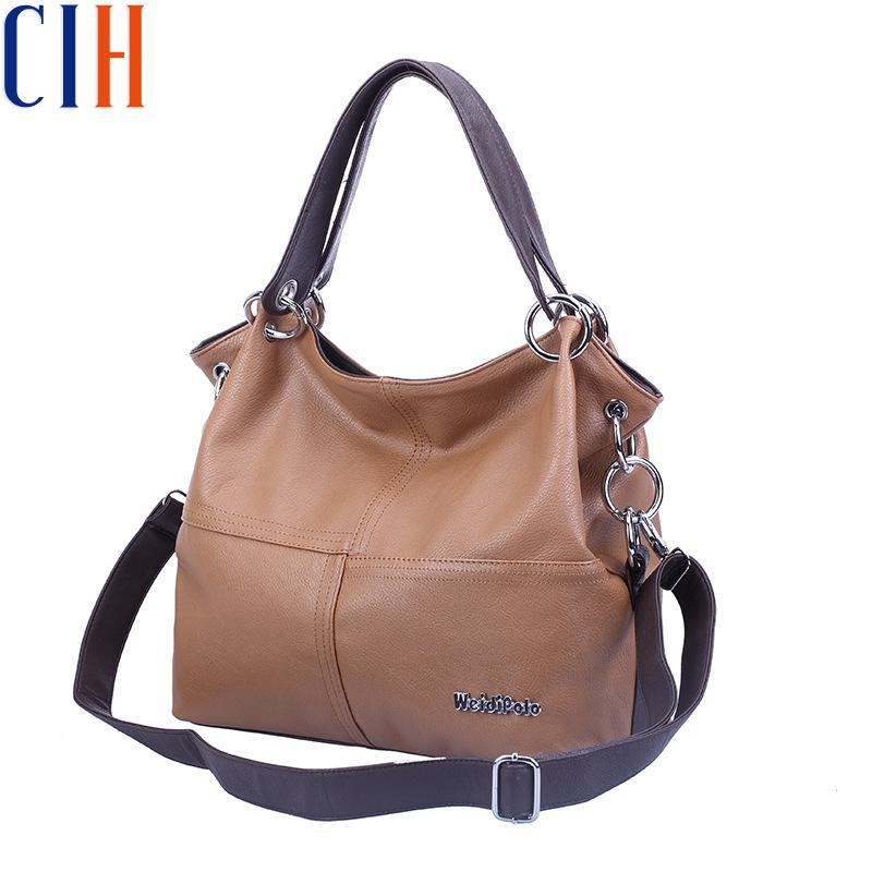 Charm in hands! 2015 HOT Women Handbag HIGH QUALITY Women Messenger Bags VINTAGE Women Leather Handbags Tote Women Bag LM2357(China (Mainland))