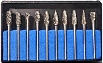 Jiangsu carbide burrs tungsten steel head double lines 5 * 10 mounted Set Promotion<br><br>Aliexpress