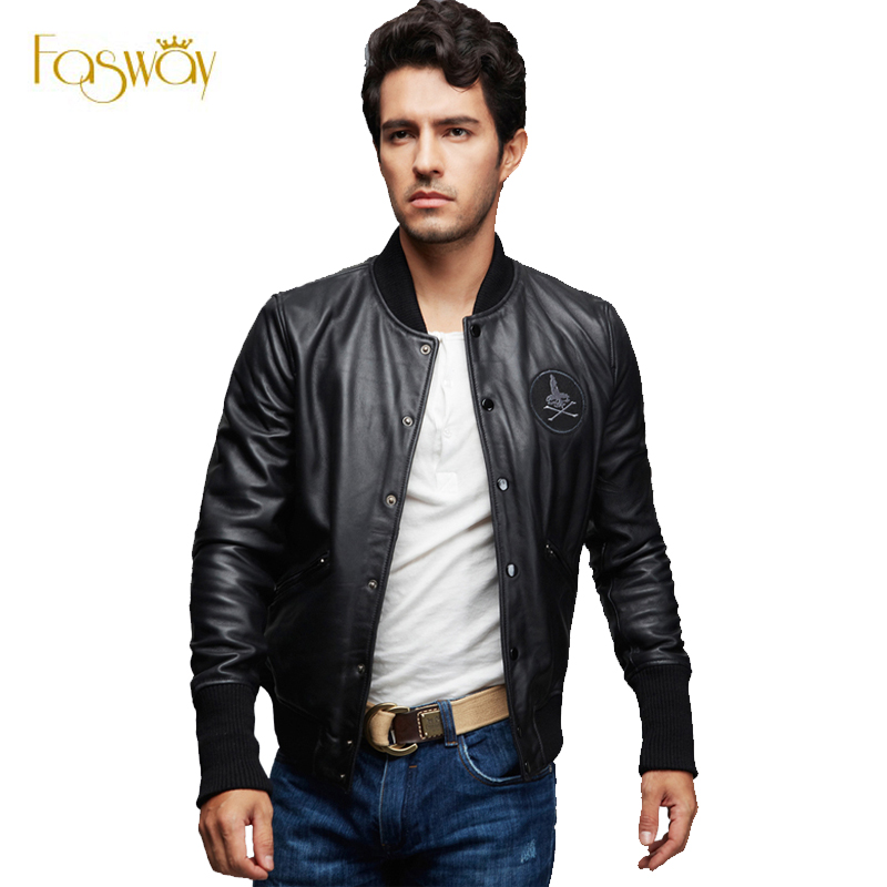 Leather Bomber Jackets For Men Photo Album - Reikian