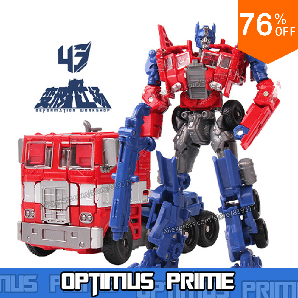 Hot Original Box Transformation 4 Anime Optimus Prime Bumblebee Grimlock Cars Brinquedos Robot Action Figures Kids Toys Juguetes(China (Mainland))