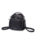 Solid Color Plain MINI Bag Women Stylish Casual Embossing Backpack Preppy Style Fashion Small Shoulder Bag