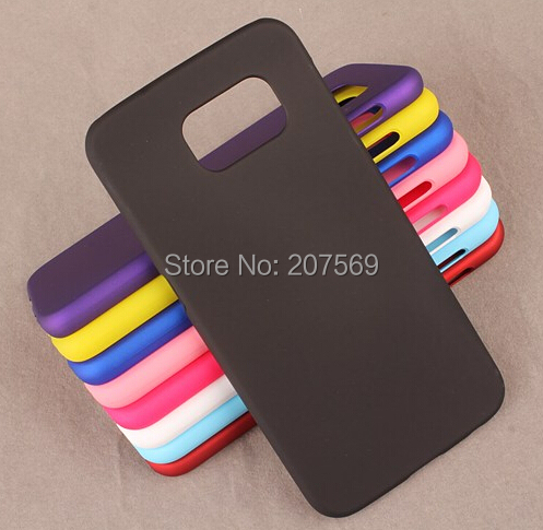 For Galaxy S6 Edge Matte Hard Cover,New Rubber Hard Back Cover Case For Samsung Galaxy S6 Edge