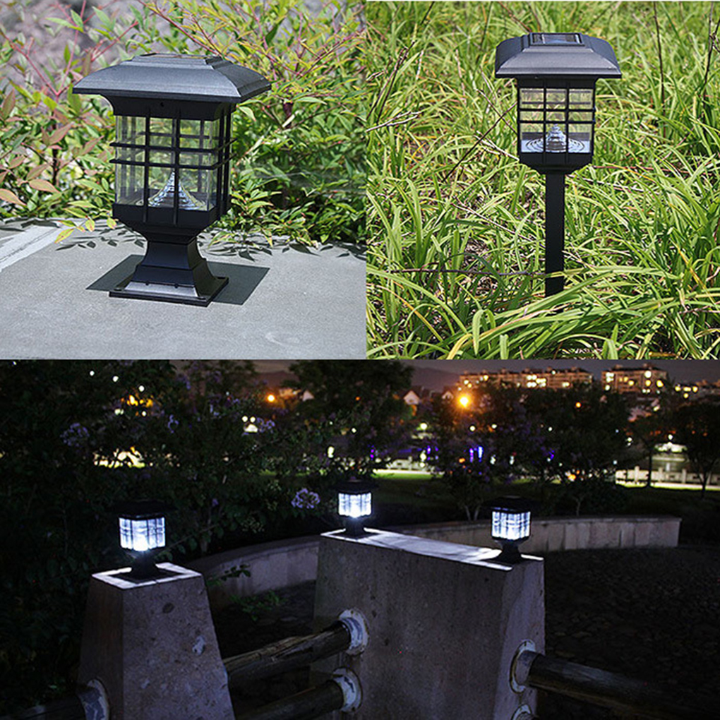 Solar lamp post promotie winkel voor promoties solar lamp post op - Outdoor licht tuin ...