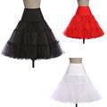 New Skirt Silps rockabilly Tutu Petticoat Crinoline Underskirt Ball fluffy pettiskirt Princess for Wedding Bridal Vintage