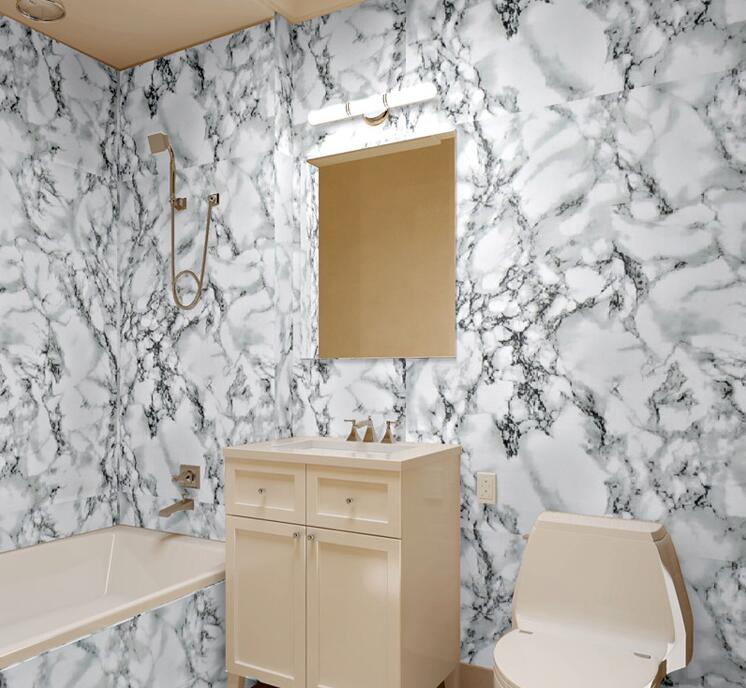 Imitation stone walls promotion shop for promotional for 3d wallpaper for bathroom