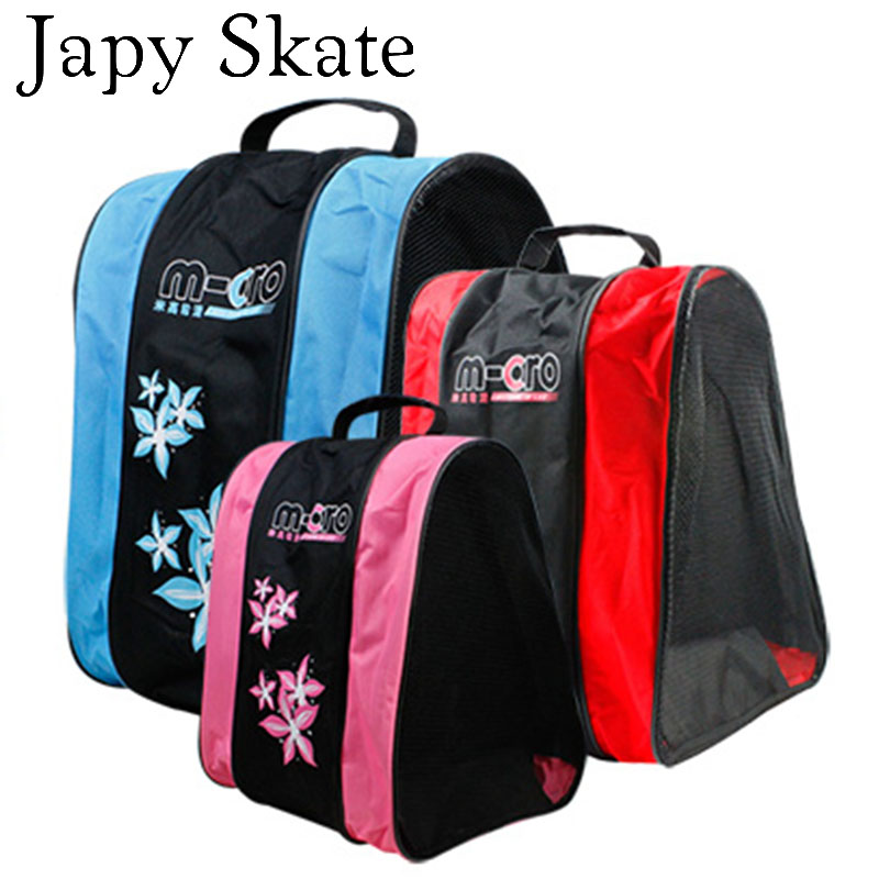 Japy Skate Professional Skating Bag SEBA Bag Good Quality Shoulder/Handle Roller Skating Bag Good Athletic Products Camping Bag(China (Mainland))