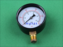 0-10bars/150psi  pressure gauge for water pumps and machine. 63mm OD(China (Mainland))