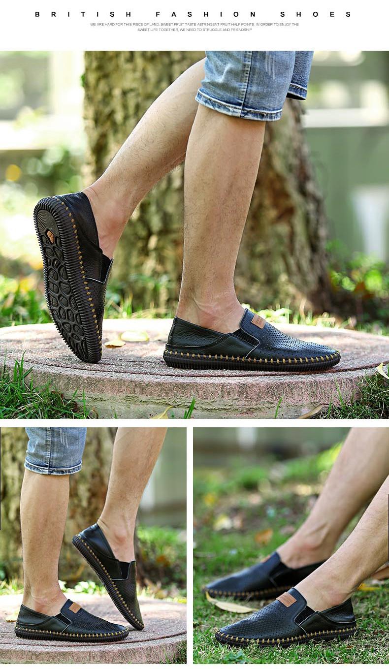 Ручное Шитье Натуральная Кожа Мужчины Обувь 2016 Мода мужская Обувь Повседневная Скольжения На Мужчин Белый Квартиры zapatillas Zapatos hombre sapatos
