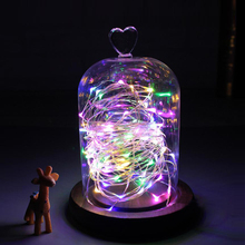 Buy Muticolor 2M 5M Copper Wire LED String light garland gift festival party led strip light lamp christmas decoration mariage for $1.12 in AliExpress store