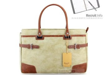 Free shipping.prefect genuine leather briefcase,lady' message bag.great handbag.laptop bag