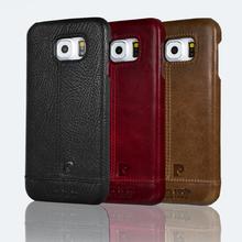 Чехол бампер из натуральной кожи для Samsung Galaxy S6 S6 Edge S6 Edge Plus S7 S7 Edge