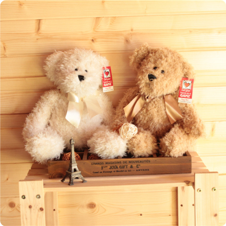free shipping 39cm 12inch ganz teddy bear plush toy baby toy christma gift(China (Mainland))