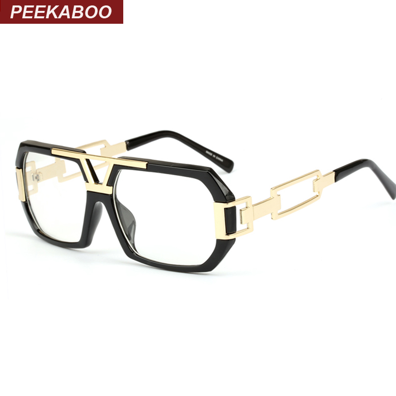 Peekaboo Newest stylish brand square frame glasses optical ...