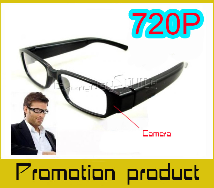 1080p Clear Fashion Glasses Camera DVR Camera Eyewear Clear