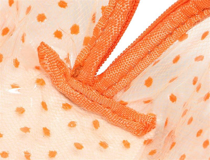 2016 New Hot Sale Transparent Three Layers waterproof PVC Spot Shell Type Bag Women Cosmetics Bags HBG32 (3)