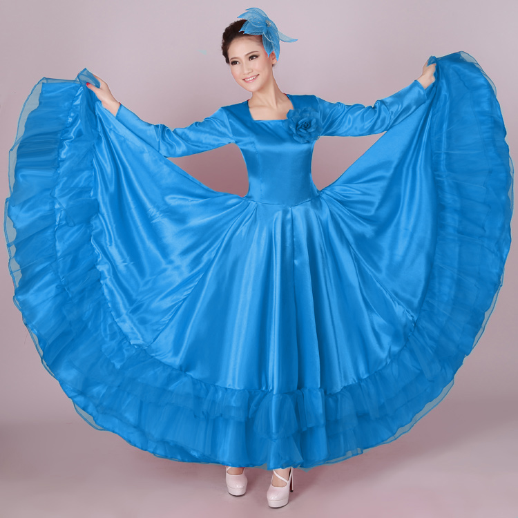 Modern dance costume clothes expansion skirt full dress costumes expansion bottom full dressОдежда и ак�е��уары<br><br><br>Aliexpress