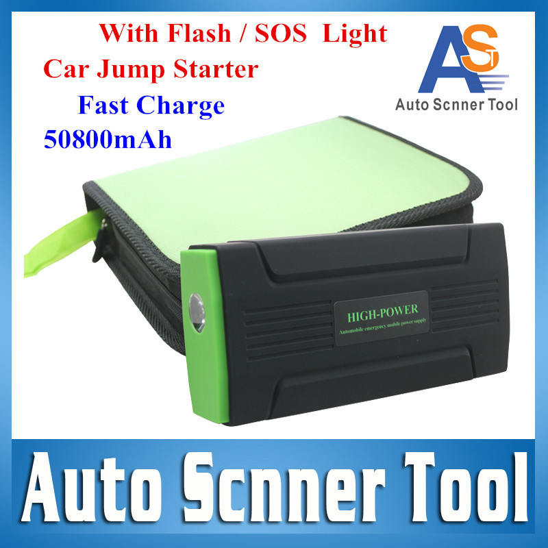 2016 Fast Ship EPS Emergency Battery 50800mAh Car Jump Starter LED/SOS Light Fast Charge AUTO Start Power Bank Multi-Functions(China (Mainland))