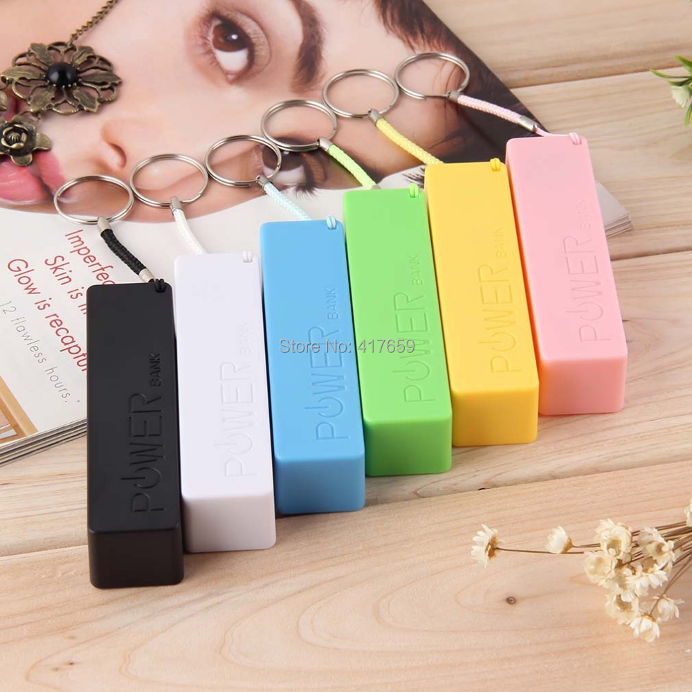 USB 18650 Battery Charger Portable Mobile Power Bank Case Box Cover KeyChain for iPhone for Samsung