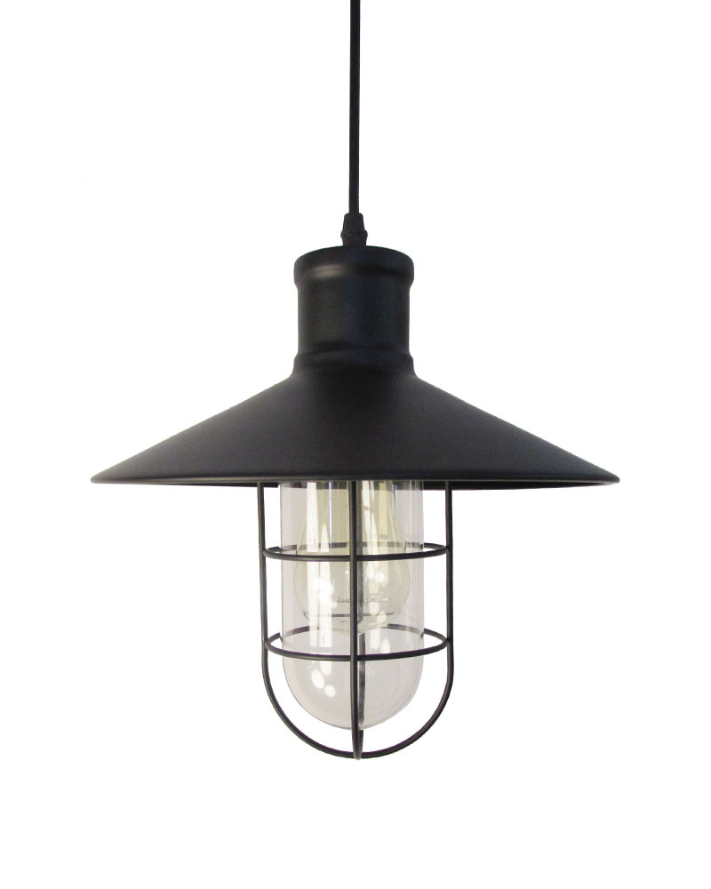 Rustic Foyer Pendant Lighting : Ems free shipping pendant light rustic industrial style