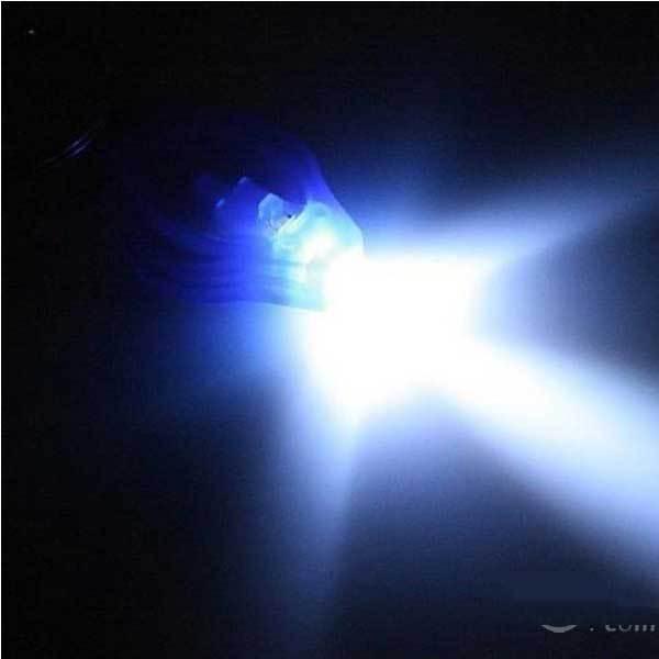 Bartooville Mini LED Flashlight holder keyring Keychain Torch New(China (Mainland))