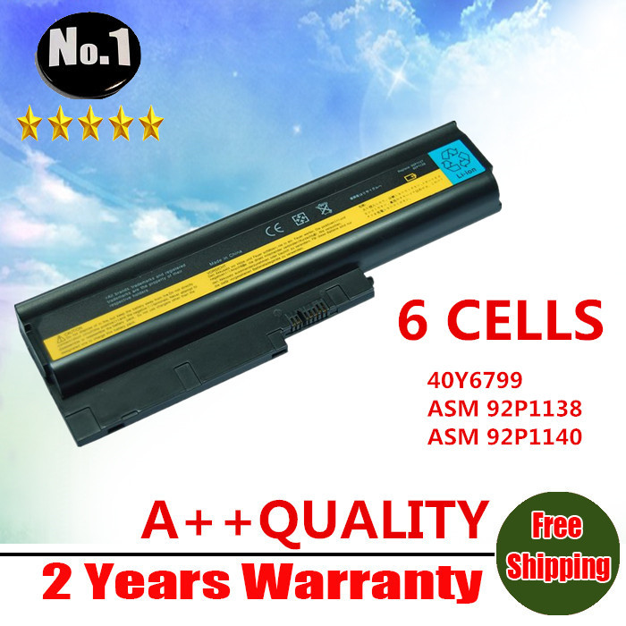 WHOLESALE NEW LAPTOP BATTERY FOR IBM THINKPAD W500 R60 R60E T60 T60P Series 40Y6795 40Y6797 40Y6799 FREE SHIPPING(China (Mainland))