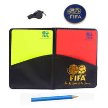 Soccer referee cards with coin whistle Brand whistles red card and yellow card tool Football referee kit equipment(China (Mainland))