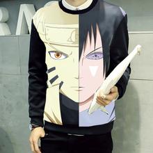 New Spring Hoodies NARUTO Cartoon cool Sweatshirts hoodies Jacket Uchiha Sasuke cartoon coat(China (Mainland))