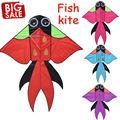 Outdoor Fun Sports Large Kite Cartoon Choi Fight Goldfish Kites Beach Kites Kitesurf Tail Children s