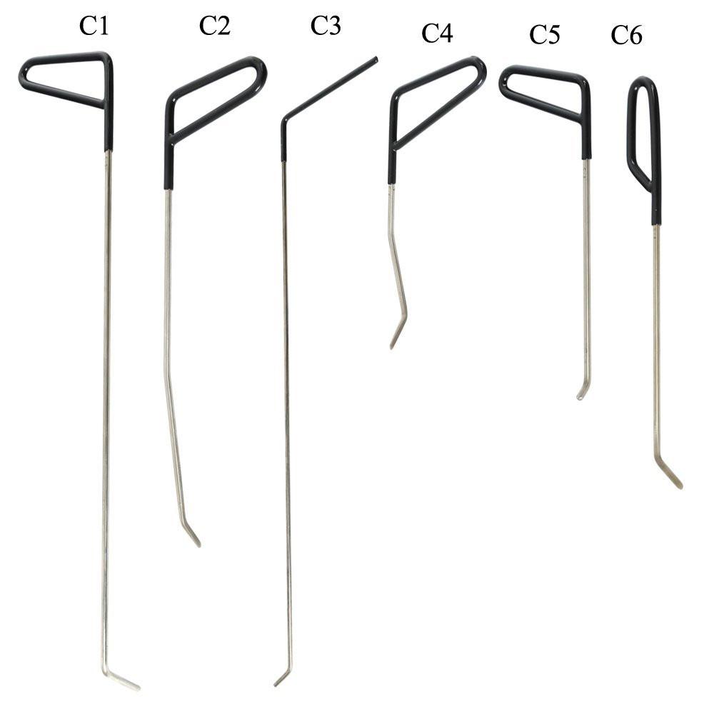 Купить 22 Шт. НДР Paintless Dent Repair Tools Набор Стержней Удаления Вмятины PDR Инструмент Удаления Вмятин