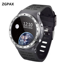 Buy ZGPAX Android 5.1 Smart Watch S99A Quad Core Support SIM GPS WIFI Heart Rate Monitor Smartwatch Phone ios android VS KW88 for $80.99 in AliExpress store