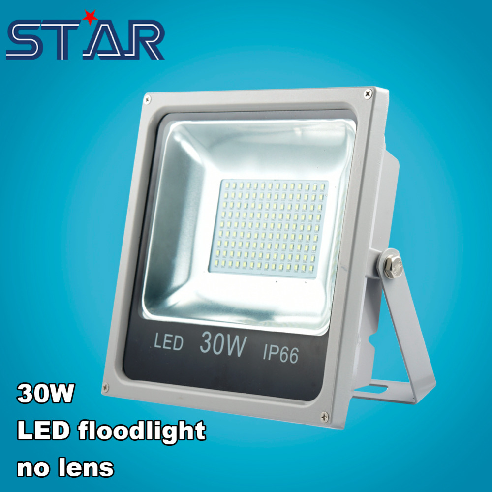 LED FloodLight 30W LED Flood Light Spotlight Outdoor Landscae Lighting Tunel Exterior Projectors Lamp IP66 Waterproof NO Lens<br><br>Aliexpress