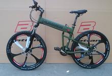 aluminium folding bike frame