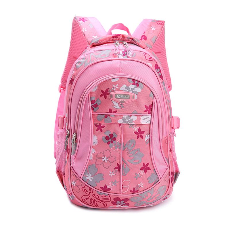 New Floral Printing School Bag Backpack For Teenage Girls Boys Teenagers Cute Trendy Children Book Bag Student Satchel