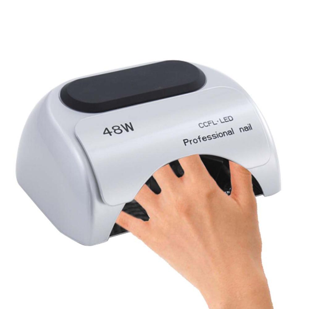 Гаджет  48w LED UV Nail Gel Curing Lamps for Manicure EU US  Plug Available Nail Dryer Nail Art Polish Machine None Красота и здоровье